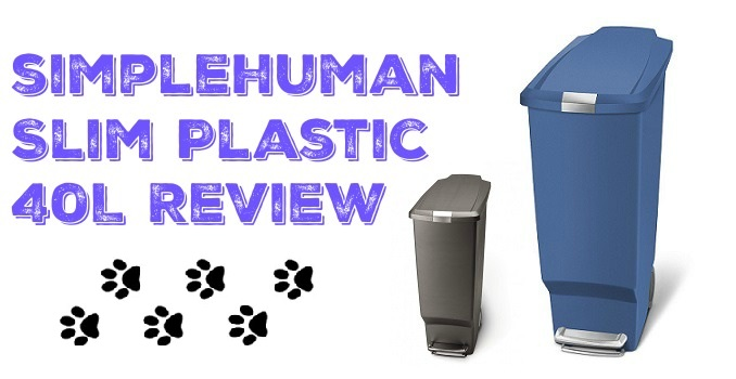 simplehuman slim-plastic review