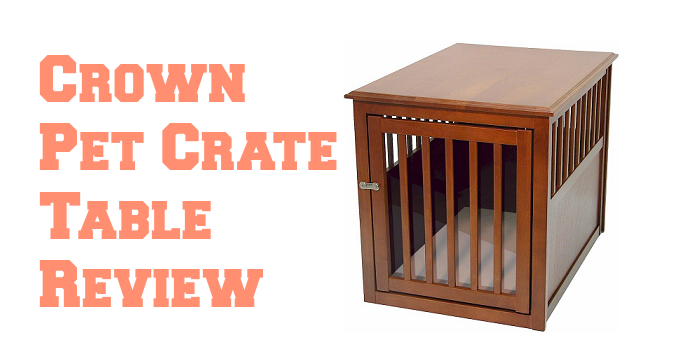 Crown Pet Crate Table U2013 A Side Table Dog Crate