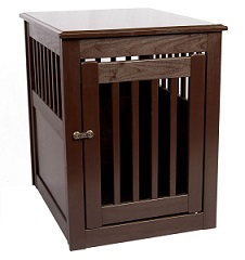 Gorgeous wood dog crate