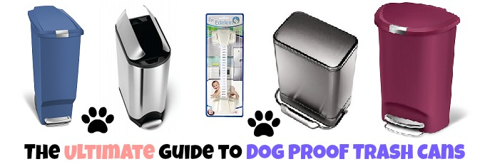 Best Dog Proof Kitchen Garbage Cans