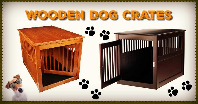 furniture dog crate